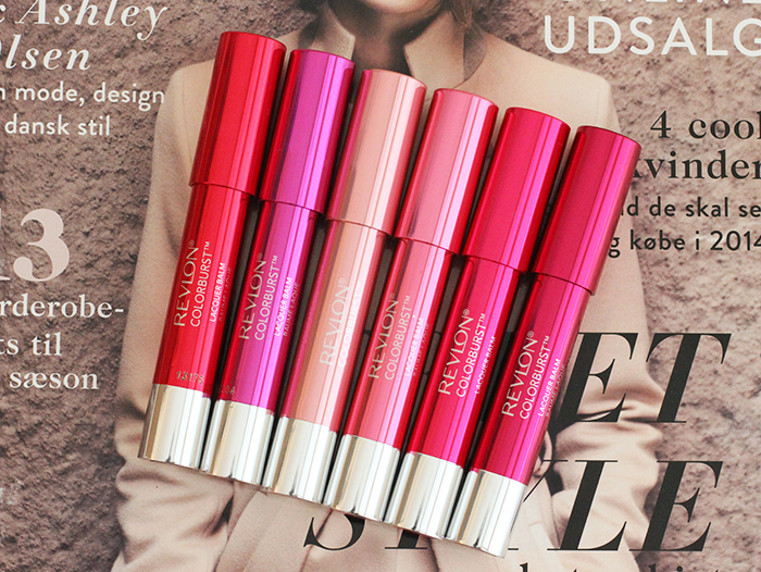 New in Switzerland: Revlon Colorburst Lacquer Balms