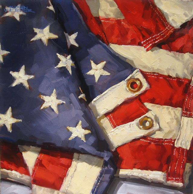 karen werner fine art stars stripes an american flag
