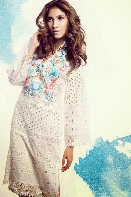 Floral Summer Kurti Designs