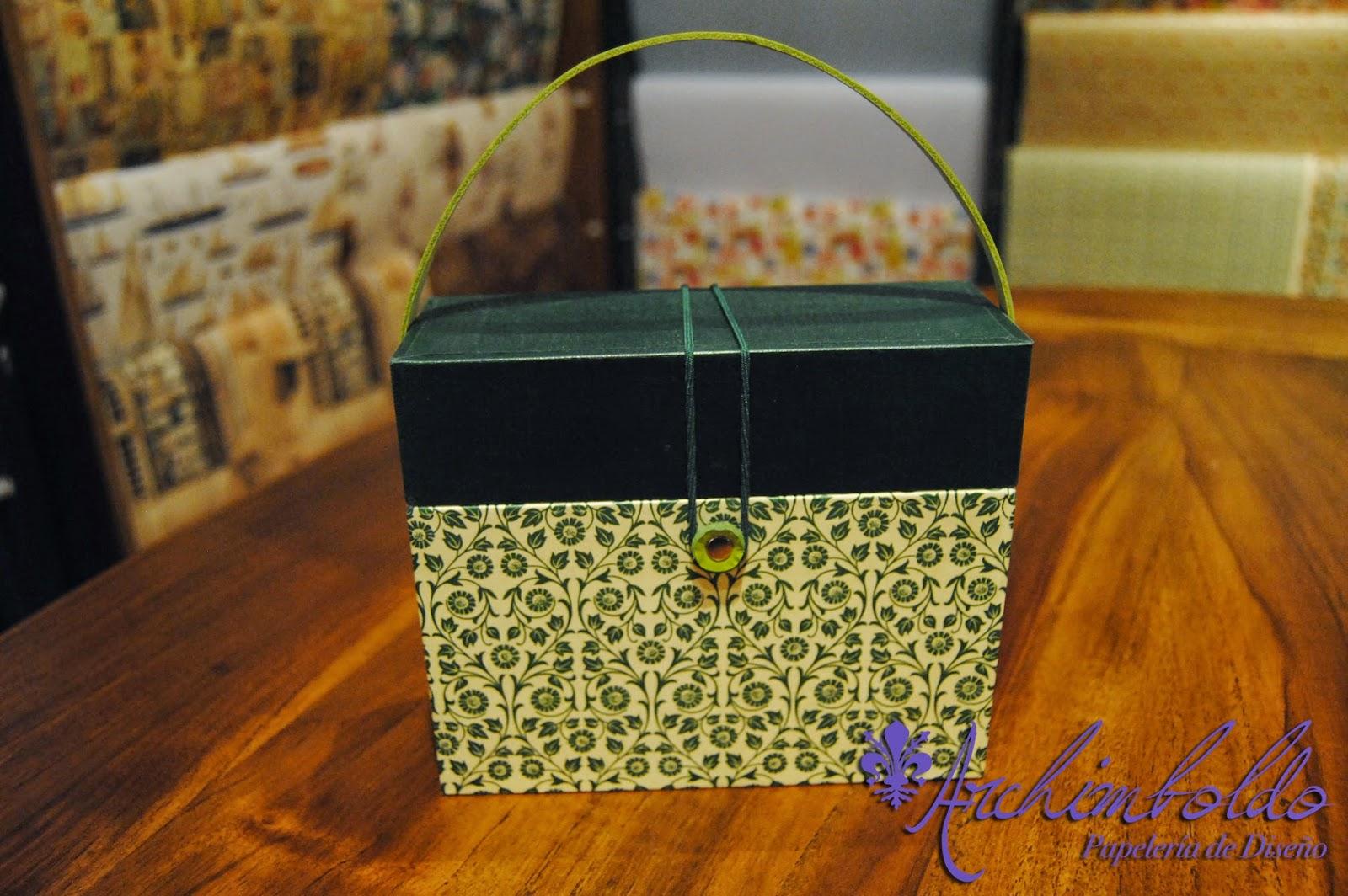 caja cartonnage tassotti