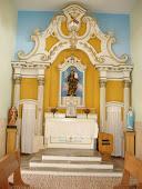 Convento de Santo Antonio, Canindé - Ce. Altar da Igreja Conventual.
