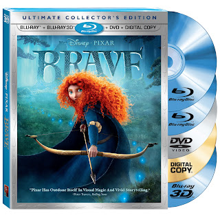 BRAVE is Coming to Blu-ray and DVD! Review and Reader Giveaway