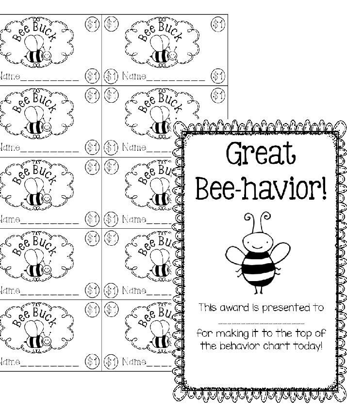 http://www.teacherspayteachers.com/Product/Bee-Bucks-1348895