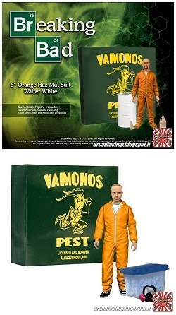 BREAKING BAD ACTION FIGURE MEZCO TOYS
