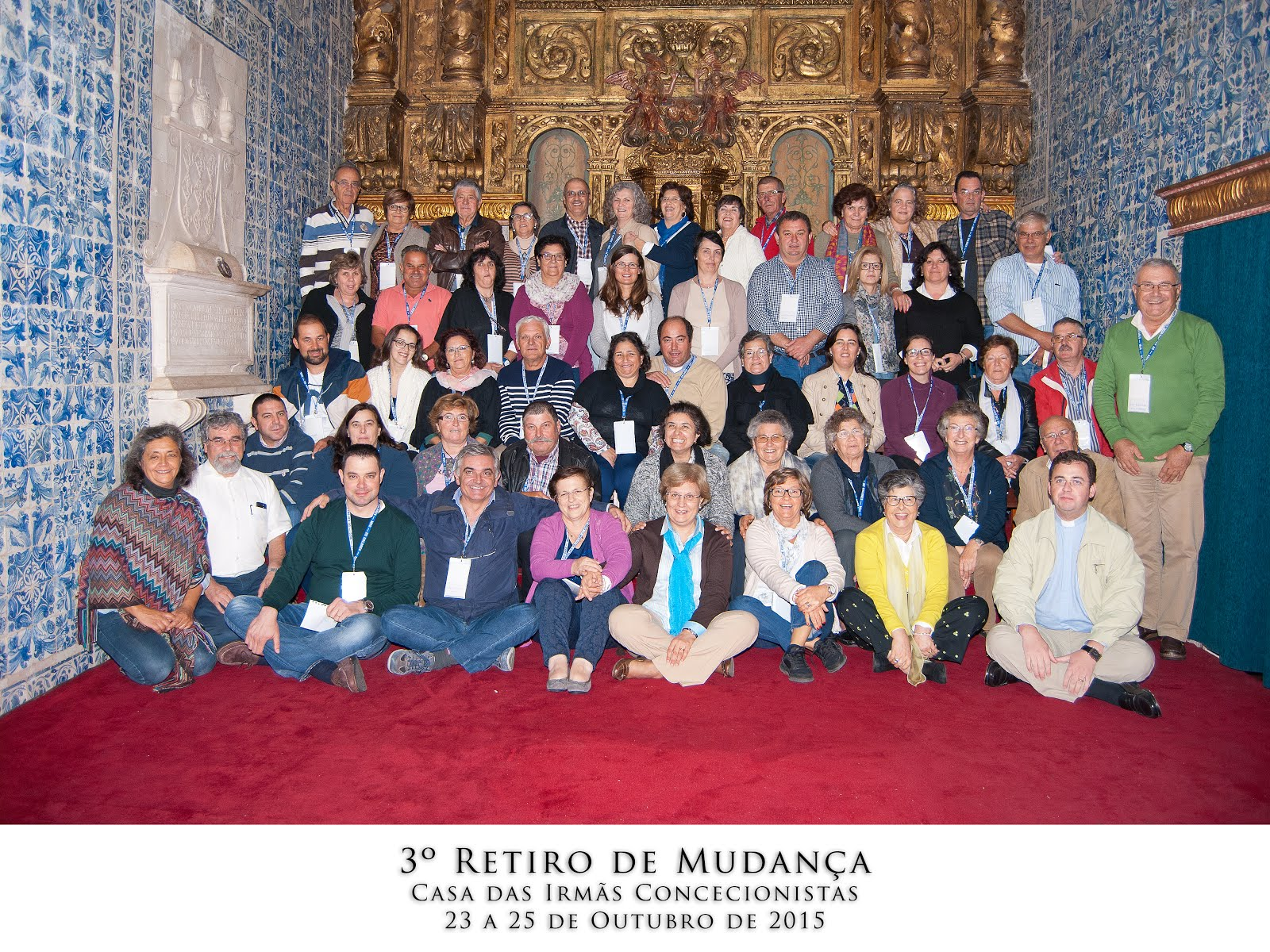RETIRO DE MUDANÇA - 2015/10/23a25