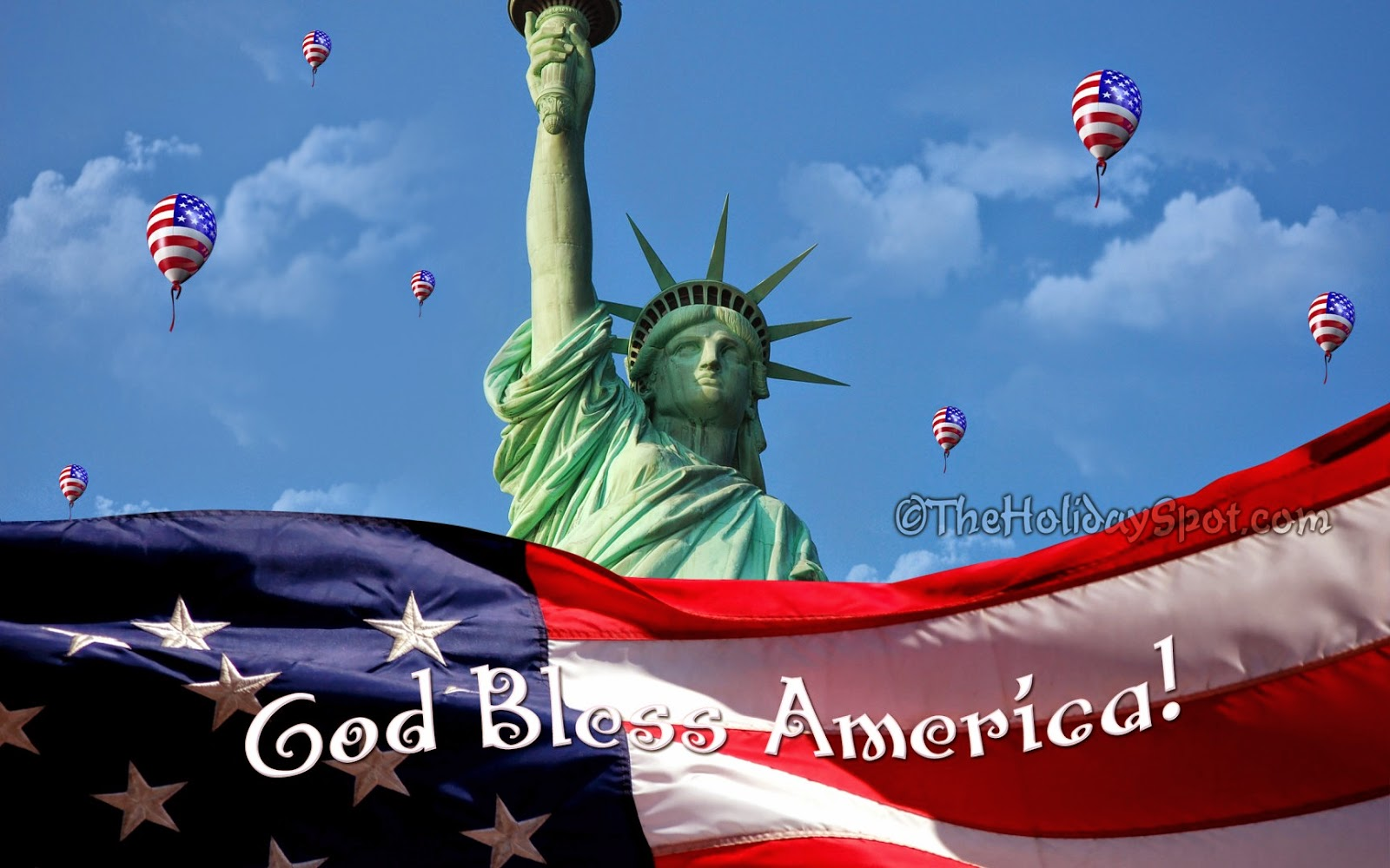 HD God Bless America Wallpapers