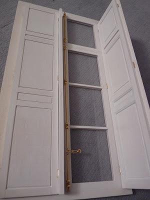 Petit Trianon, Maquette, Fenêtre
