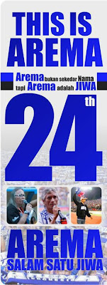 24th Anniversary of Arema Indonesia