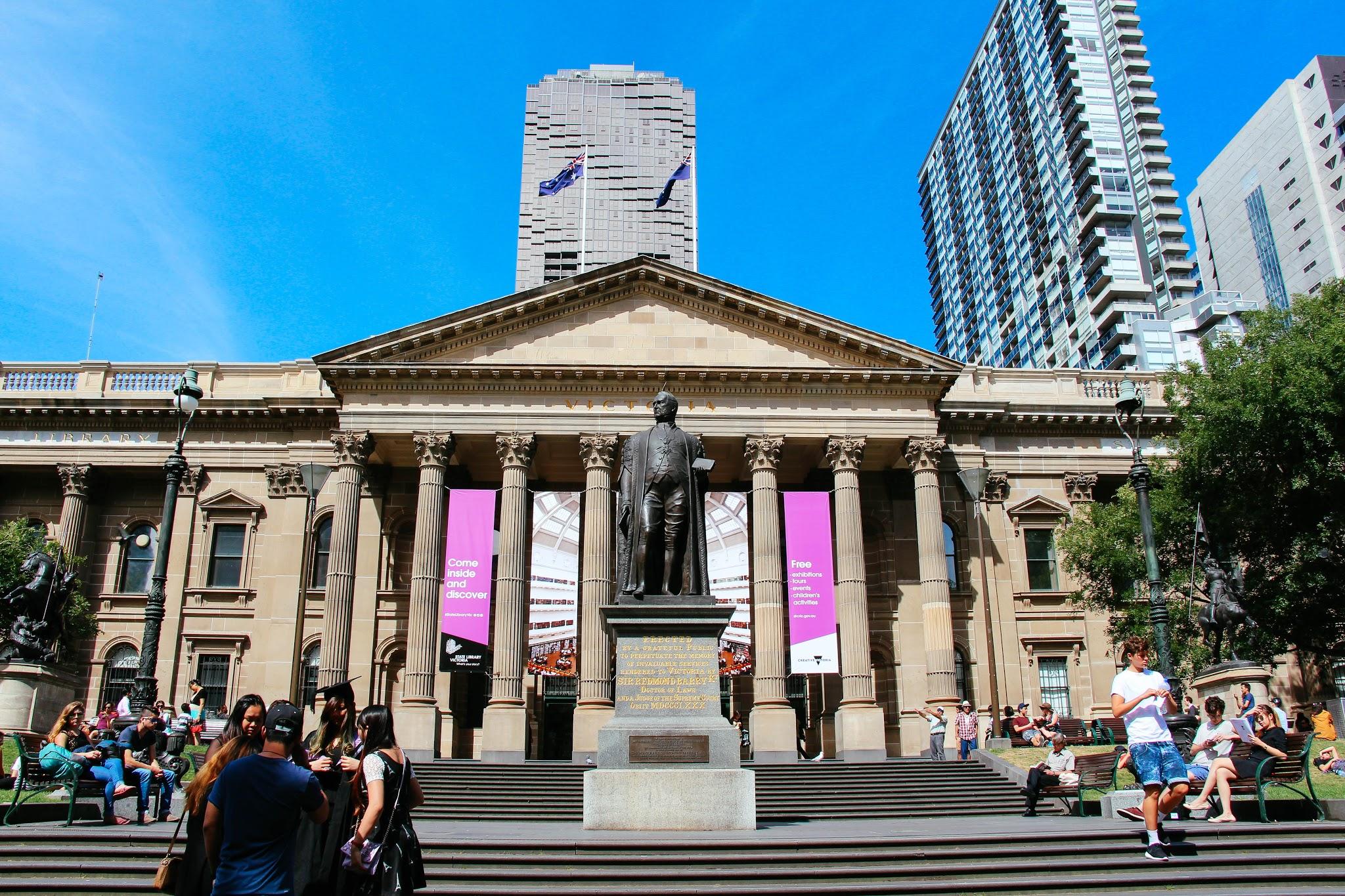 Melbourne Guide State Library Victoria