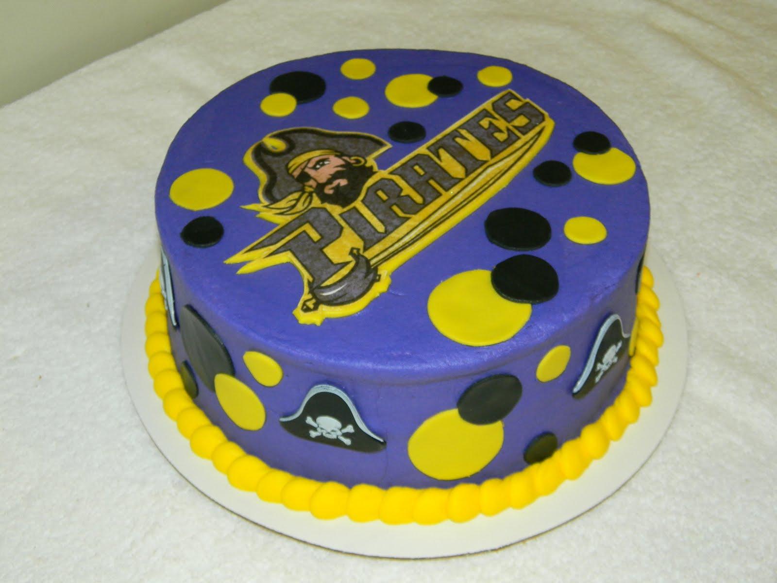 Custom Cakes By Christy  Ecu Pirates Cake