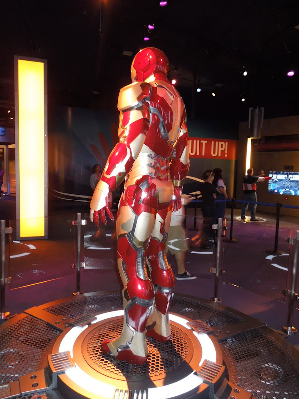 Iron Man 3 Mark XLII suit side