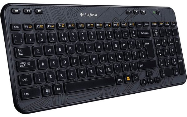 logitech wireless k400 keyboard software