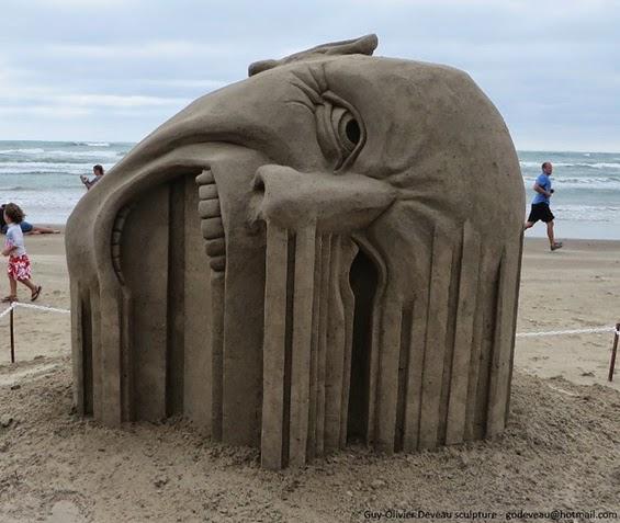 esculturas de arena, xplora, programa escultura de arena, sand, arena, sculture, escutura, modelar, playa, sol, vacaciones, castillo de arena, cubo, pala , sand sculptures