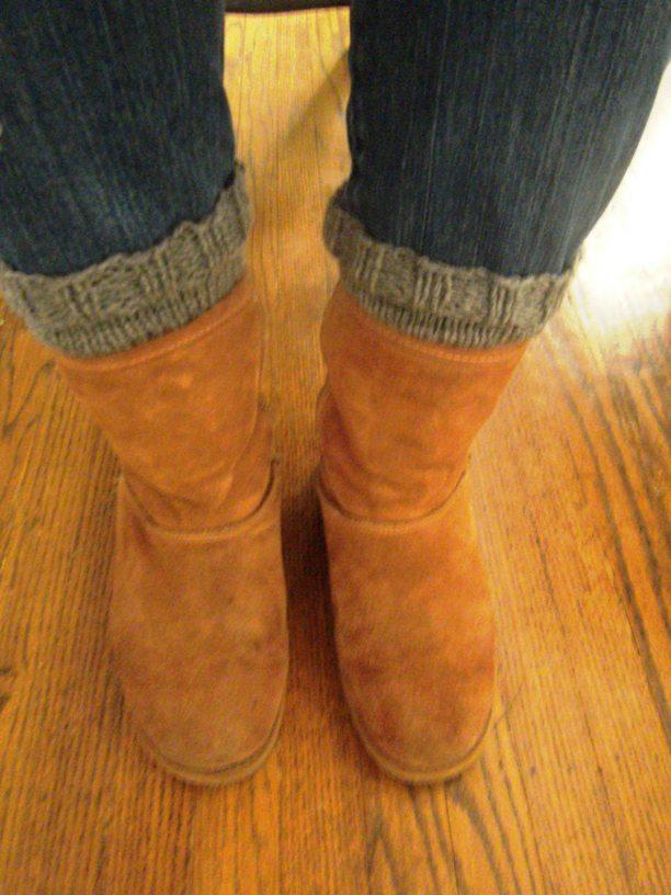 My Honey Bunch Easy Boot Cuffs Diy Pattern