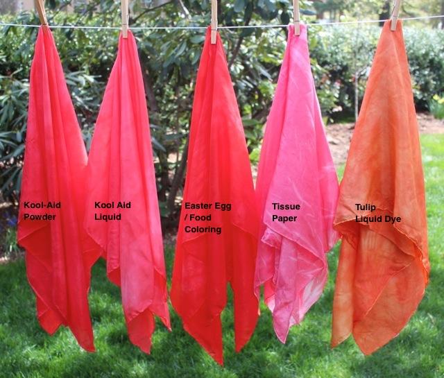 Rachael Rabbit: Kid Friendly Dyeing - Making your own Play Silks