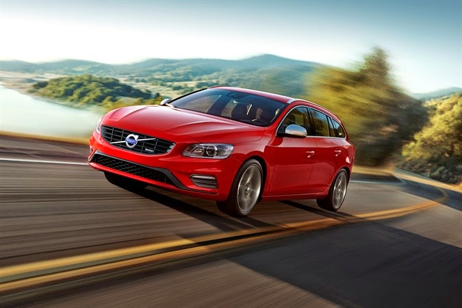 Volvo's V60 wagon is big on sporty vigor