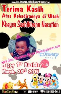 Thank Card Kheysa Disney Sample Tema Design Thanks Card (Kartu Ucapan Terima Kasih)