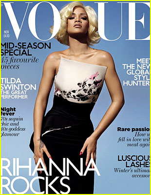Rihanna @ 'British Vogue' November 2011 !