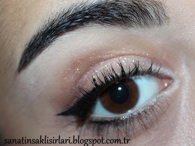 Sade Yılbaşı Göz Makyajı / Yeni Yıl Makyajı #2