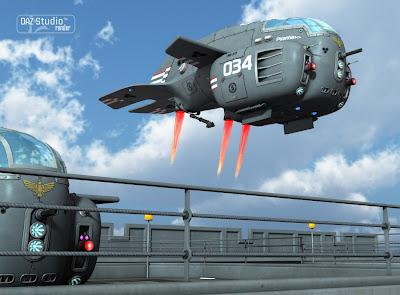 Starship Piranha