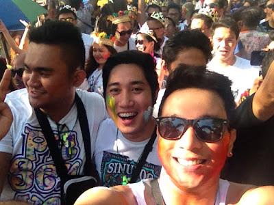 Mark Gregana, Melchur Tolentino and Cedric Lucero - Sinulog 2015