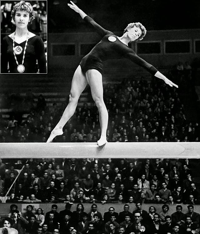 Larisa Latynina, gimnasta soviética