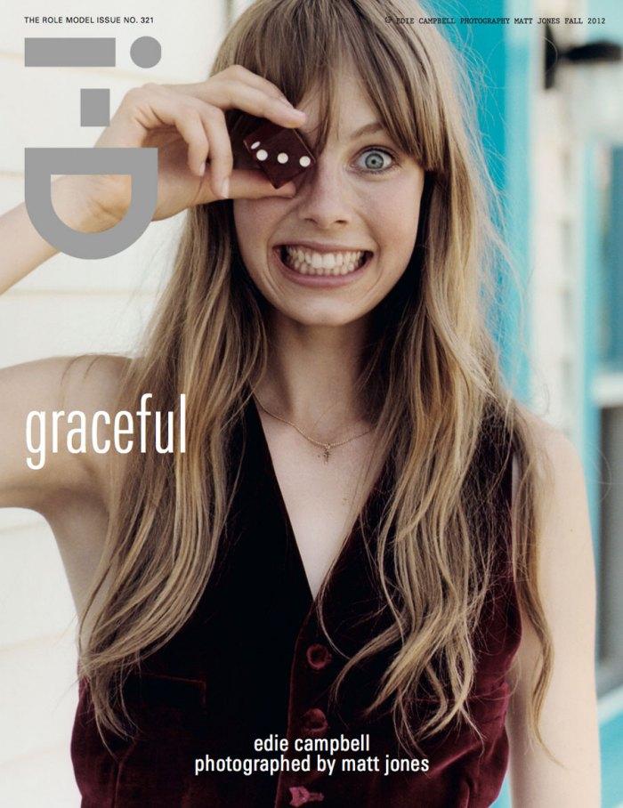 Lulalulera´s World: Edie Campbell en iD Magazine #321 otoño 2012