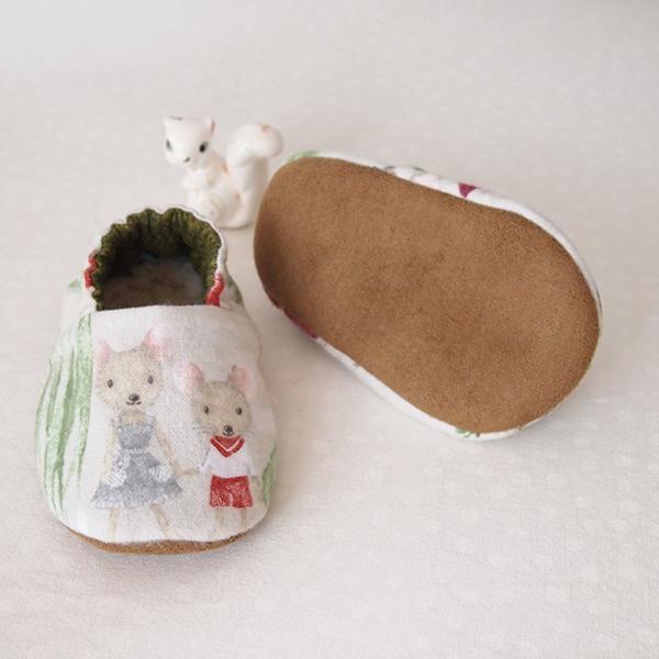 handmade baby booties lovelui
