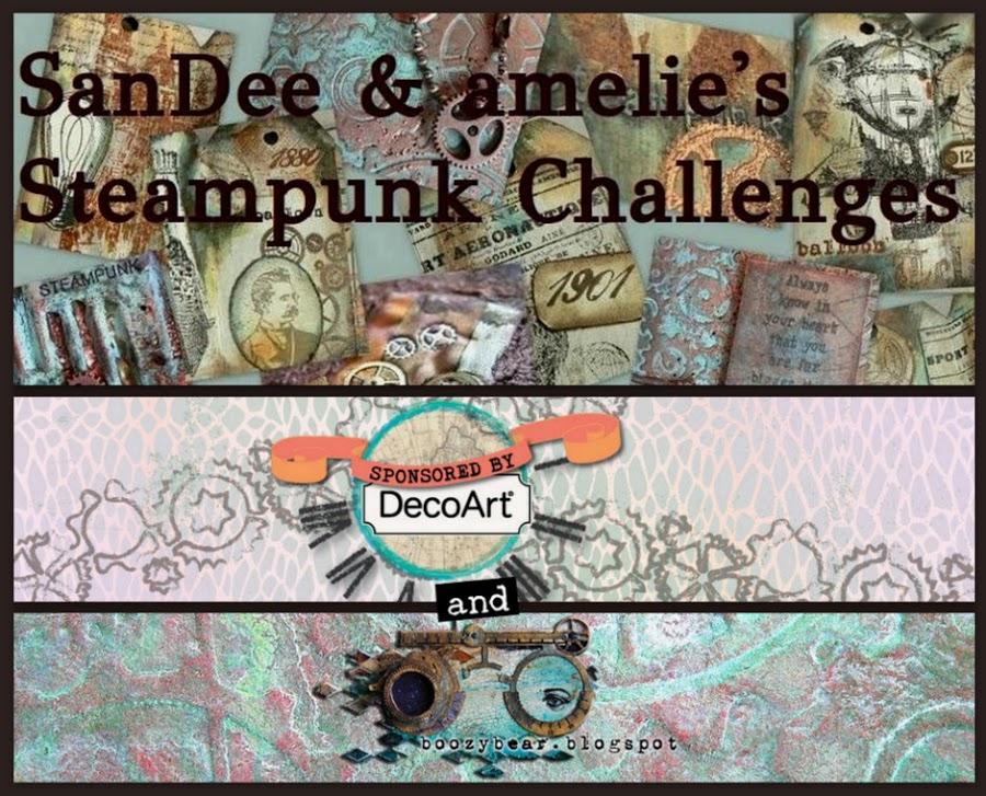 Sandie & Amelie Steampunk Challenge