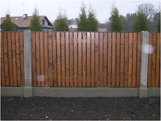 Деревянный забор. Фото 1