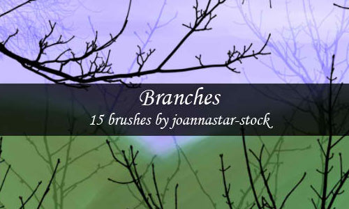 A Compilation of High Quality Tree Branch Brushes for Free