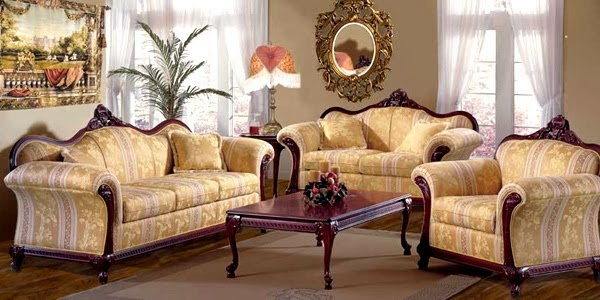 sofa style victorien chelle 1 24. Black Bedroom Furniture Sets. Home Design Ideas