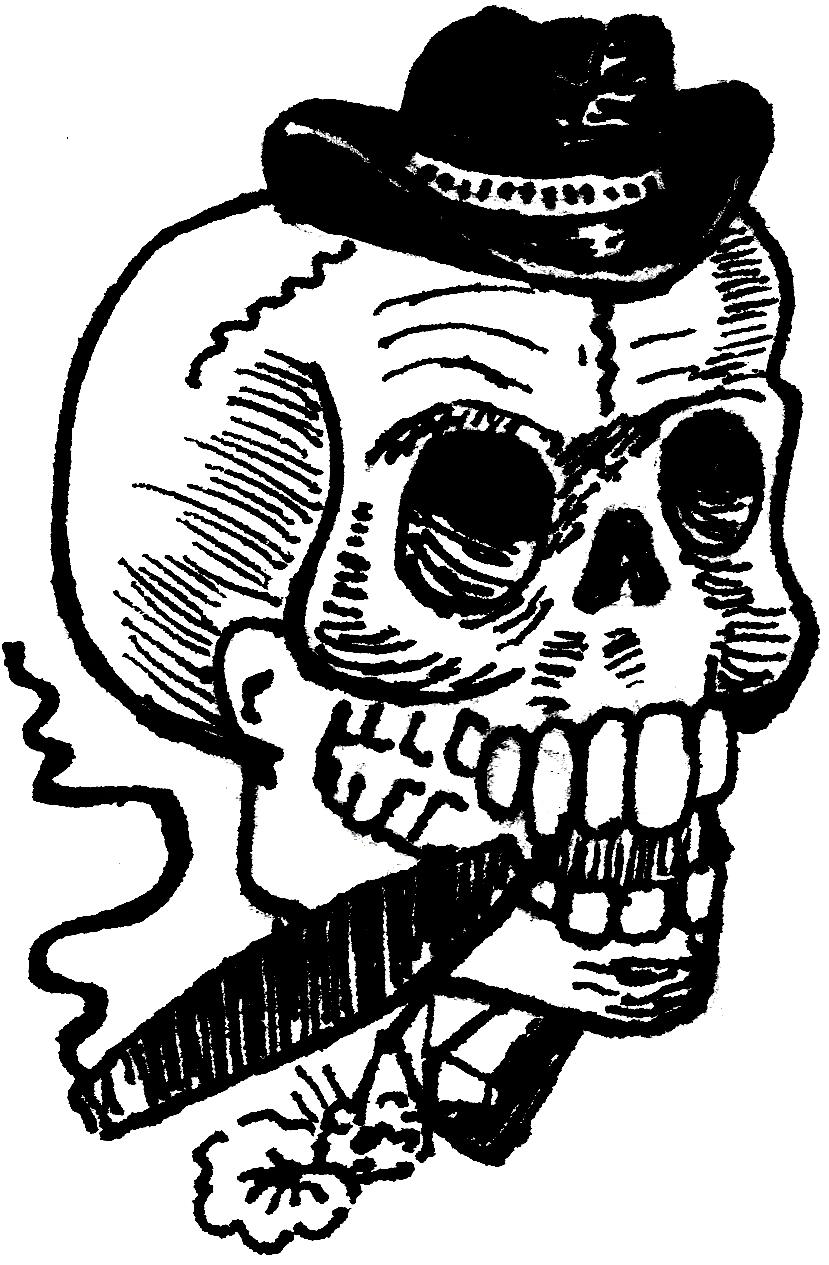 Desenhos Para Tattoos  Caveira