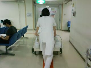 写真:第一病棟にある
