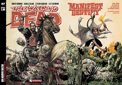 The Walking Dead #37 - Un nuovo inizio (variant Manifest Destiny)