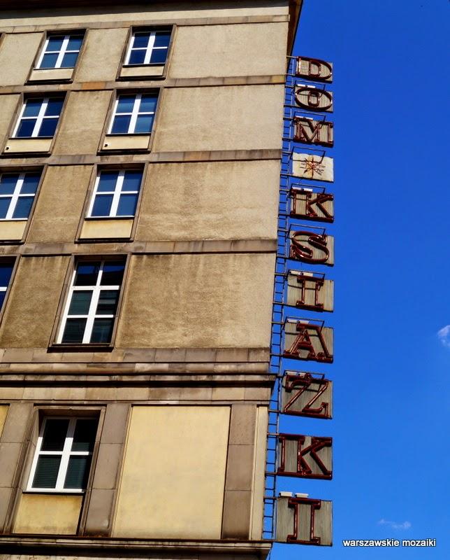 dom książki neon Warszawa Śródmieście Saska Kępa Mokotów warszawskie neony