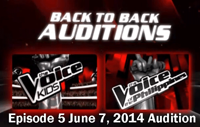 The Voice Kids Episode 5 June 7, 2014