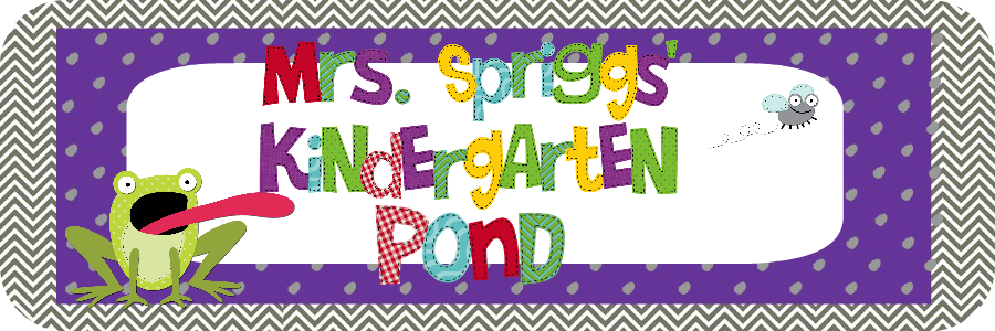 Mrs. Spriggs' Kindergarten Pond
