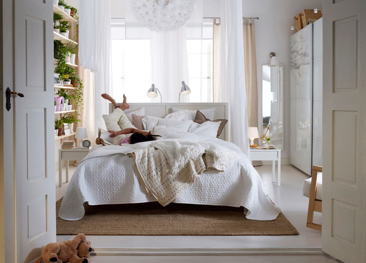 Modern Ideas Ikea Bedroom Designs