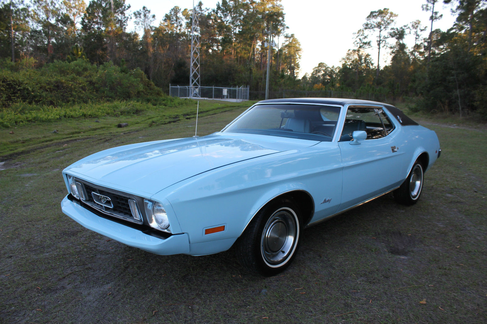 All american classic cars 1973 ford mustang 2 door hardtop
