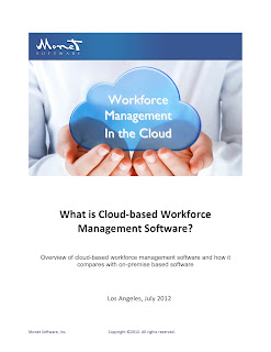 Workforce Management in the Cloud - Monet Software