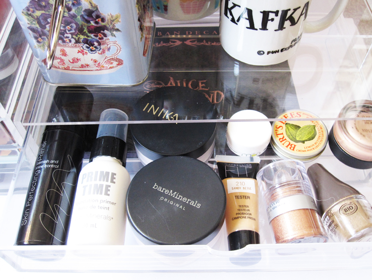 & MUJI Clear Makeup Storage #1 | We Were Raised By Wolves