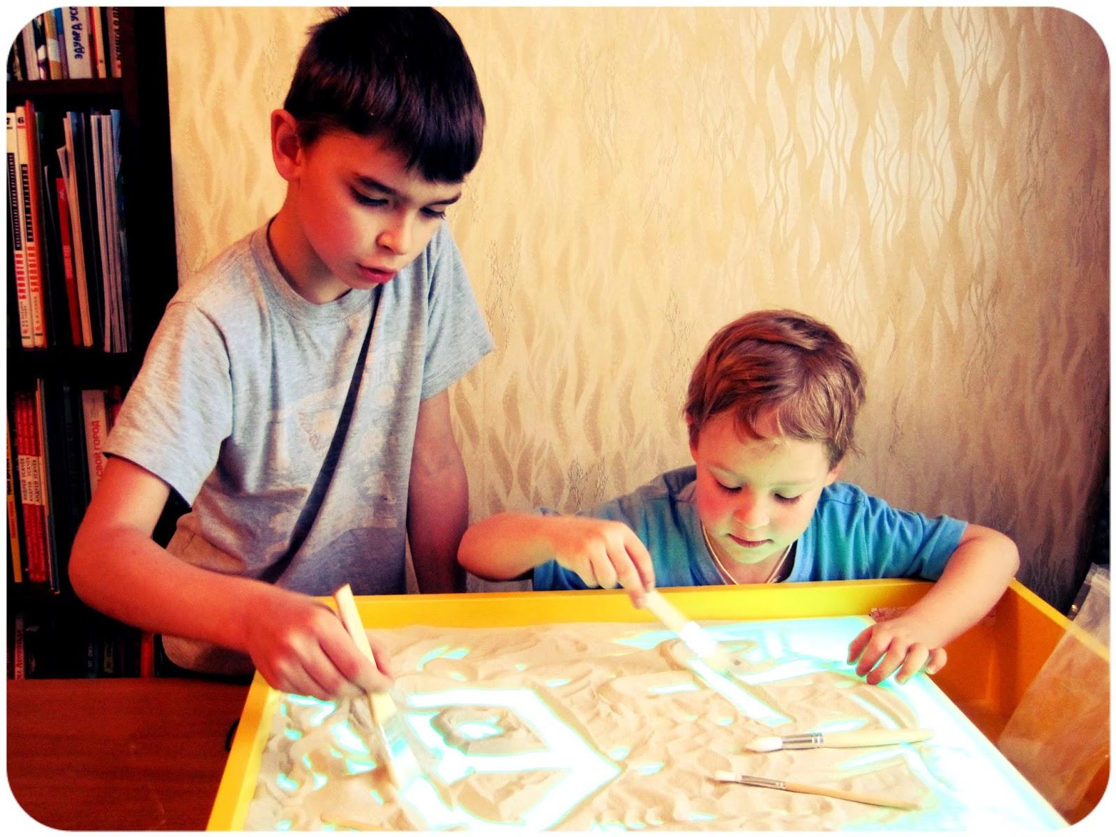 Песочная терапия для детей 3 лет картинки