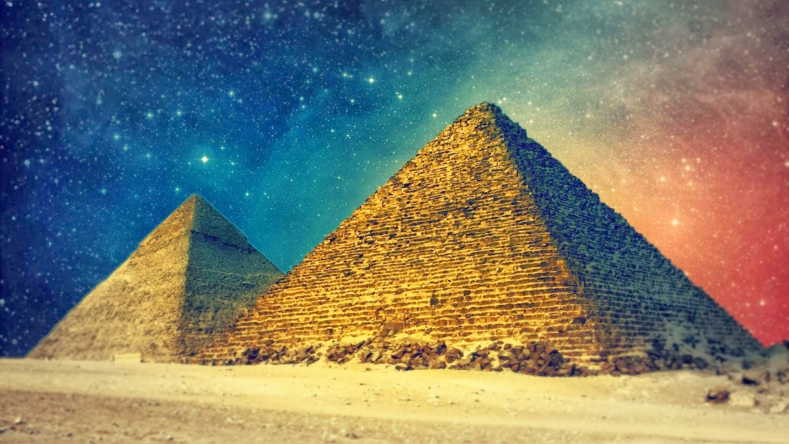 The Secret Power of the Pyramidal Shape