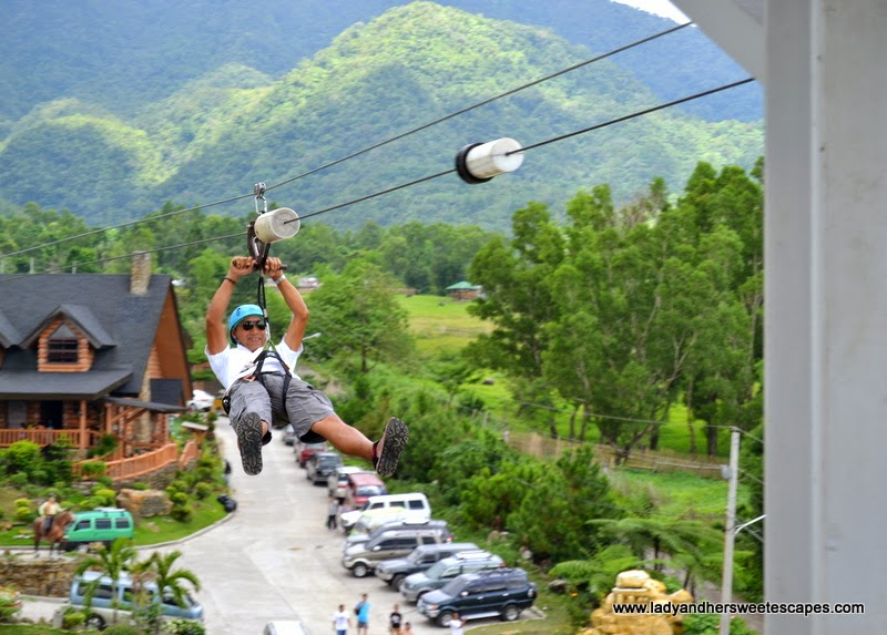 extreme adventure at Campuestohan Highland Resort