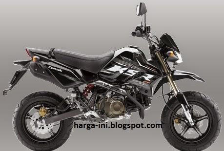 Spesifikasi Kawasaki KSR 110 Pro dan Harga Motor Mini Supersport