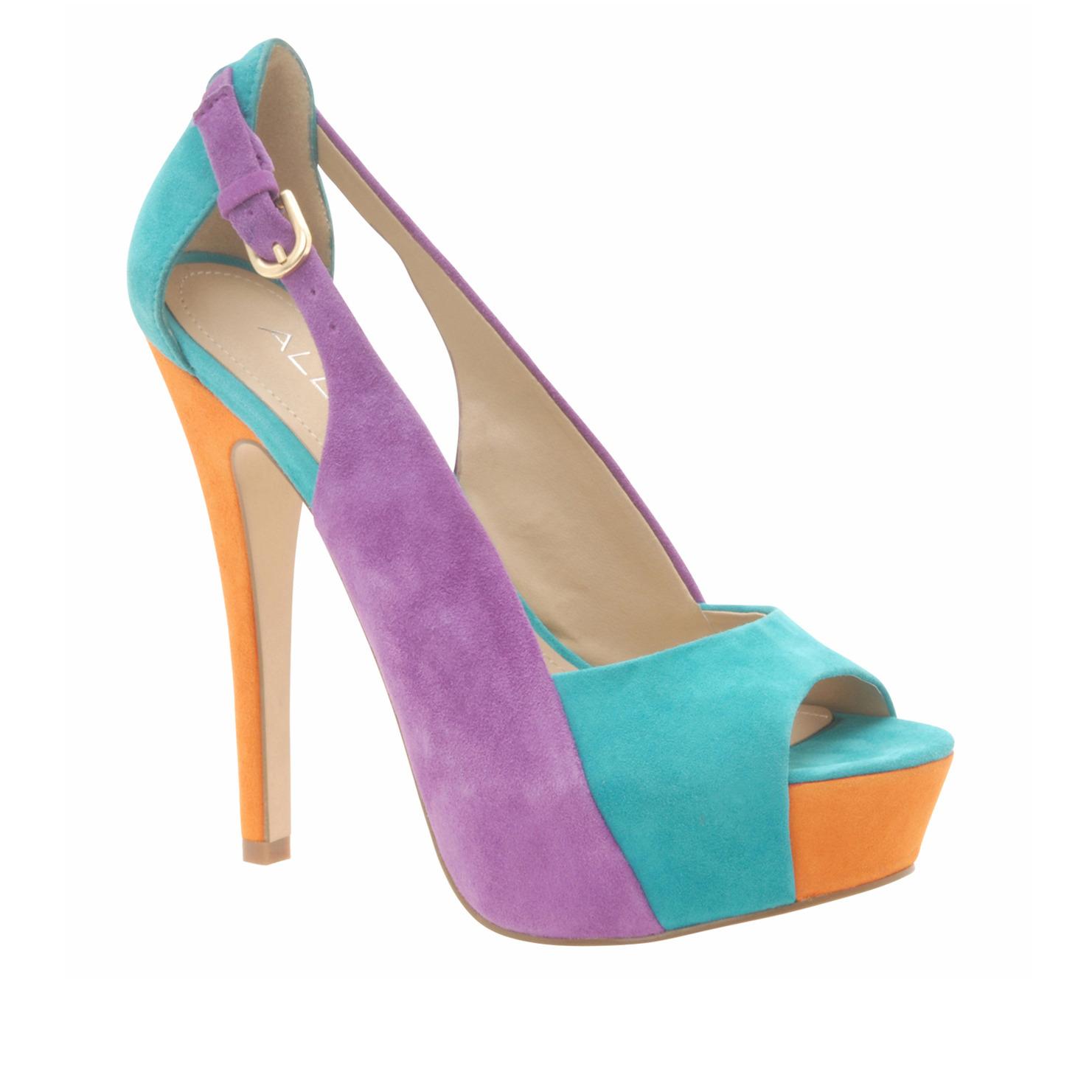 womens high heel shoes fashion multi colored stylish heels