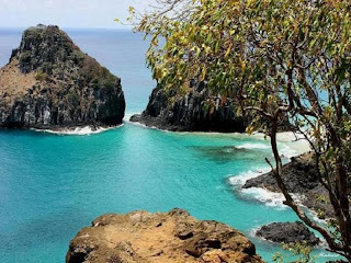 Fernando de noronha the beautiful beach