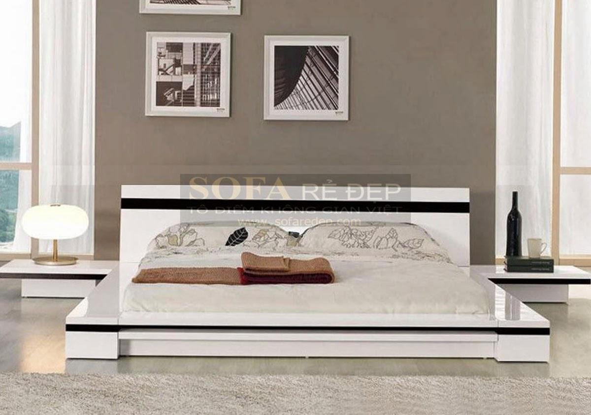 Giường ngủ GN022