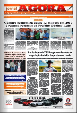 JORNAL AGORA EDIÇÃO 128-JANEIRO 2018